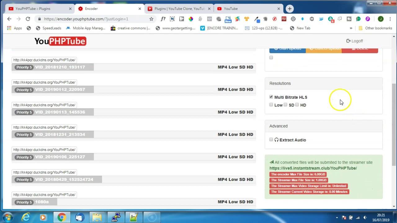 Installing the Video HLS plugin (beta)
