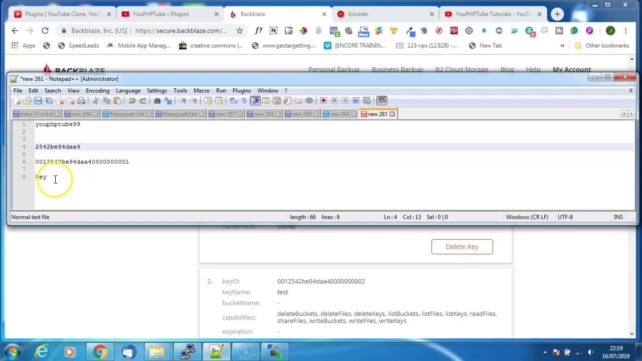 Install and configuring the Backblaze B2 plugin